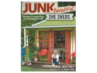books & patterns: Taunton Press Junk Beautiful She Sheds Book