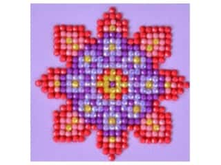beading & jewelry making supplies: Diamond Dotz Facet Art Kit Starter Flower Mandala 2