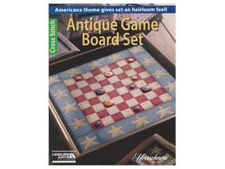 Leisure Arts Antique Game Board Set Book