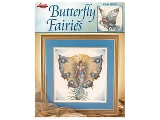 Leisure Arts Butterfly Fairies Cross Stitch Book