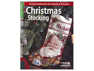 books & patterns: Leisure Arts Christmas Stocking Cross Stitch Book