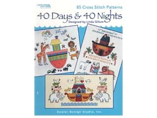 Leisure Arts 40 Days & 40 Nights Cross Stitch Book