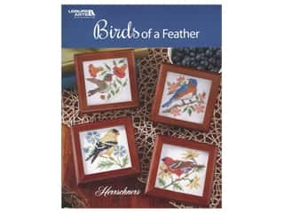 decorative bird': Leisure Arts Birds of A Feather Cross Stitch Book