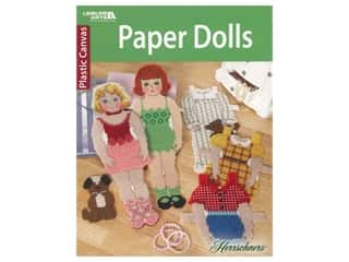 Leisure Arts Paper Dolls Cross Stitch Book