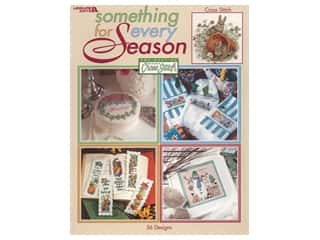 decorative bird': Leisure Arts Something For Every Season Cross Stitch Book