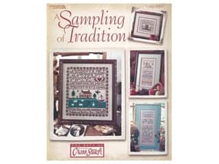 books & patterns: Leisure Arts Sampling of Tradition Cross Stitch Book