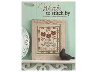 Leisure Arts Words To Stitch By Cross Stitch Book