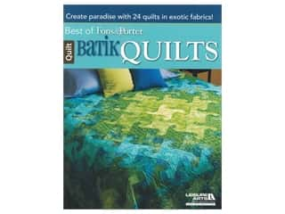 Leisure Arts Best Of Fon's & Porter Batik Quilts Book