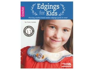 Edgings for Kids Book with Crochet Hook