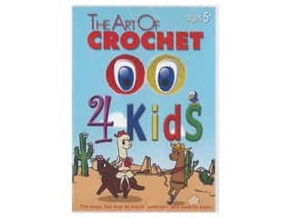 Leisure Arts The Art of Crochet For Kids DVD