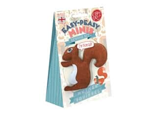 projects & kits: Crafty Kit Company Kit Sewing Mini Nutmeg The Squirrel