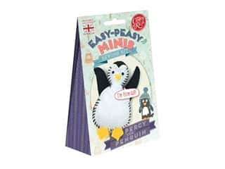 projects & kits: Crafty Kit Company Kit Sewing Mini Percy The Penguin