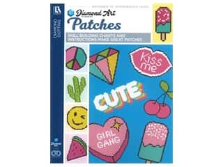beading & jewelry making supplies: Diamond Art By Leisure Arts Patches Painting Charts & Idea Book
