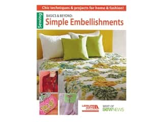 Leisure Arts Basics & Beyond Simple Embellishments Book