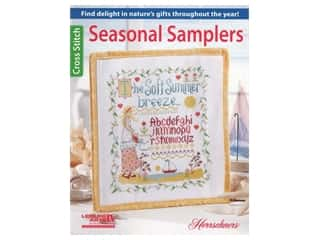 Leisure Arts Cross Stitch Seasonal Wordplay Book