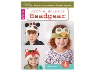Leisure Arts Crochet Little Animals Headgear Book