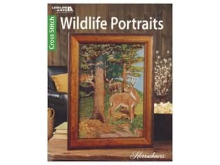 Leisure Arts Cross Stitch Wildlife Portraits Book
