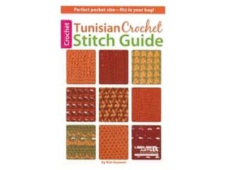 Tunisian Crochet Stitch Guide Book