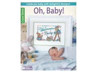Leisure Arts Oh, Baby Cross Stitch Book