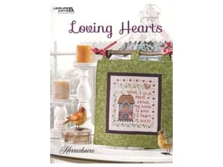 Leisure Arts Loving Hearts Cross Stitch Book