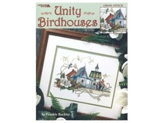 decorative bird': Leisure Arts Unity Birdhouses Book