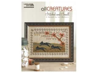 books & patterns: Leisure Arts All Creatures Stitched and Small