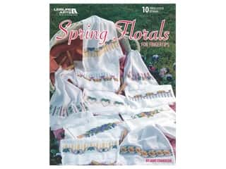 books & patterns: Leisure Arts Spring Florals For Fingertips Book