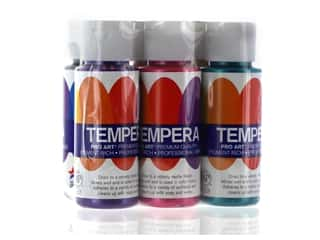Pro Art Liquid Tempera Paint Set 6 pc. Pearlescent