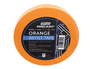 Pro Art Tape Artist 1 in. x 60 yd Orange