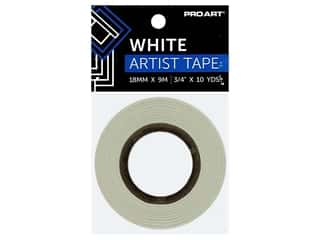 Pro Art Tape Artist .75 in. x 10 yd White