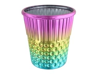 Tacony Craft Container Plastic Rainbow Thimble
