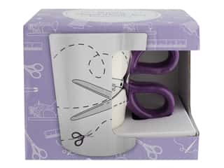 Tacony Mug Purple Scissors