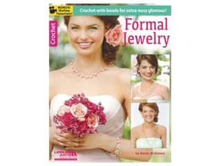 beading & jewelry making supplies: Leisure Arts Formal Jewelry Crochet Book