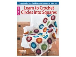 Learn to Crochet Circles into Squares Book