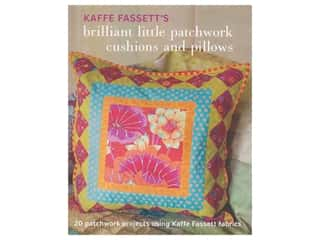Taunton Press Kaffe Fassett's Brilliant Little Patchwork Cushions and Pillows Book
