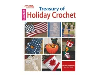 Leisure Arts Treasury Of Holiday Crochet Book