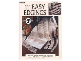 books & patterns: Leisure Arts 111 Easy Edgings Crochet Book