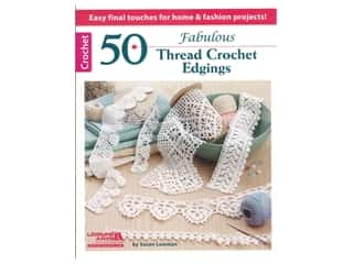 books & patterns: Leisure Arts 50 Fabulous Thread Crochet Edgings Book