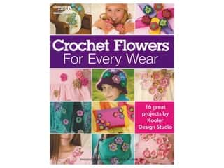 Leisure Arts Crochet Flowers For Every Wear Book