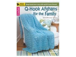 Leisure Arts Q-Hook Afghans for the Family Book