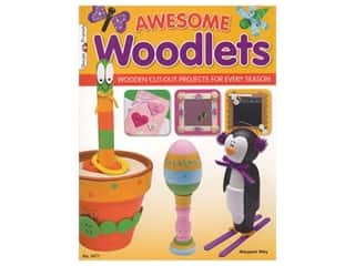 Design Originals Awesome Woodlets Book