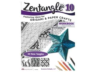 books & patterns: Design Originals Zentangle 10 Origami & Paper Crafts Book