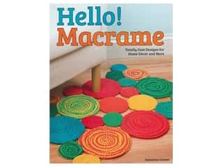 books & patterns: Design Originals Hello Macrame Book