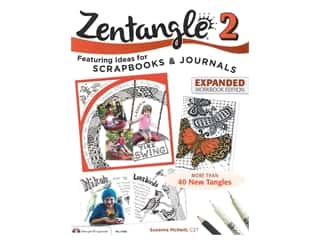 Design Originals Zentangle 2 Scrapbooks & Journal Book