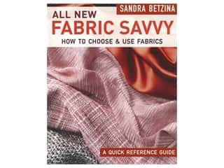 Taunton Press All New Fabric Savvy Book