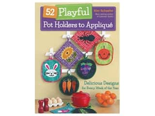 books & patterns: C&T Publishing 52 Playful Pot Holders to Applique Book