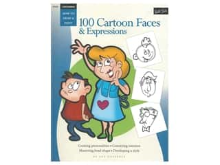 books & patterns: Walter Foster How To Draw & Paint 100 Cartoon Faces & Expressions Book