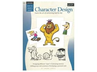 books & patterns: Walter Foster How To Draw & Paint Character Design Book