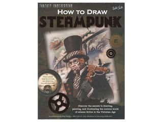 books & patterns: Walter Foster How To Draw Steampunk Book