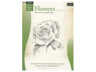 books & patterns: Walter Foster How To Draw & Paint Flowers Book
